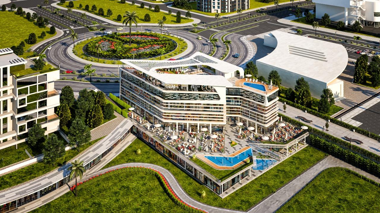 مساحات مول ذا بير العاصمة الإدارية The Pier Mall New Capital